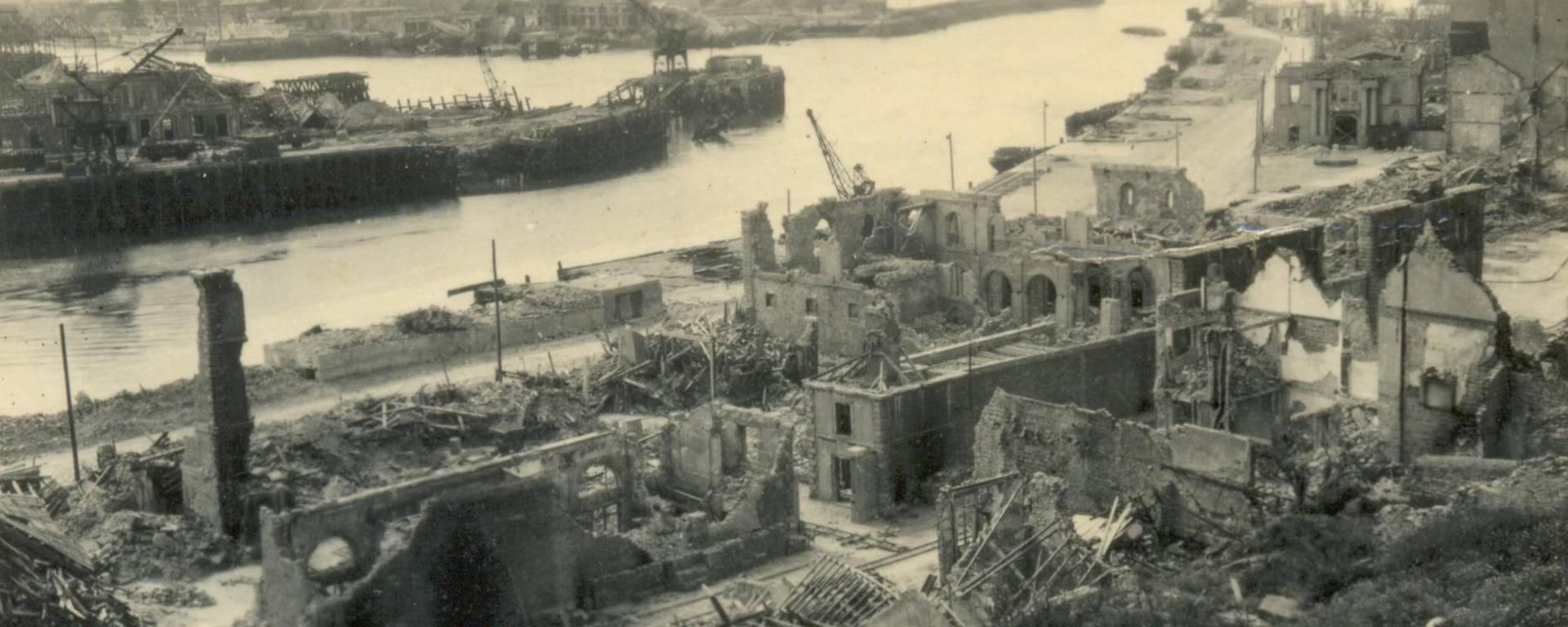 Boulogne-sur-Mer à la fin de la Seconde Guerre Mondiale