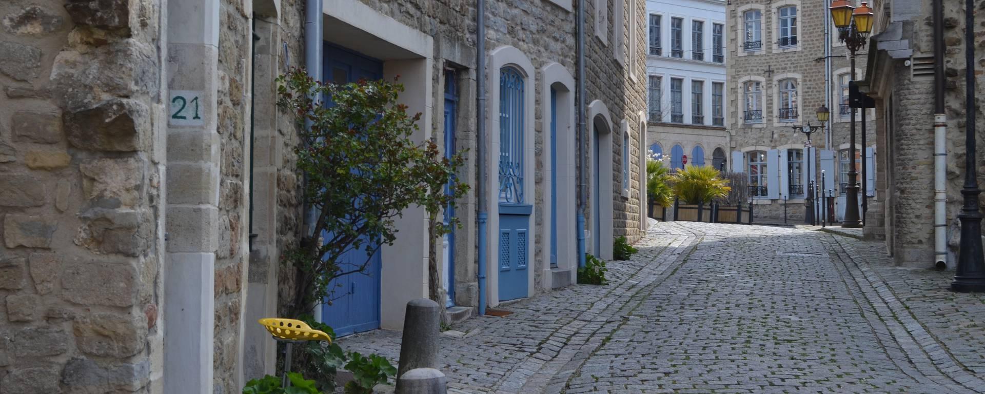 La vieille-ville de Boulogne-sur-Mer