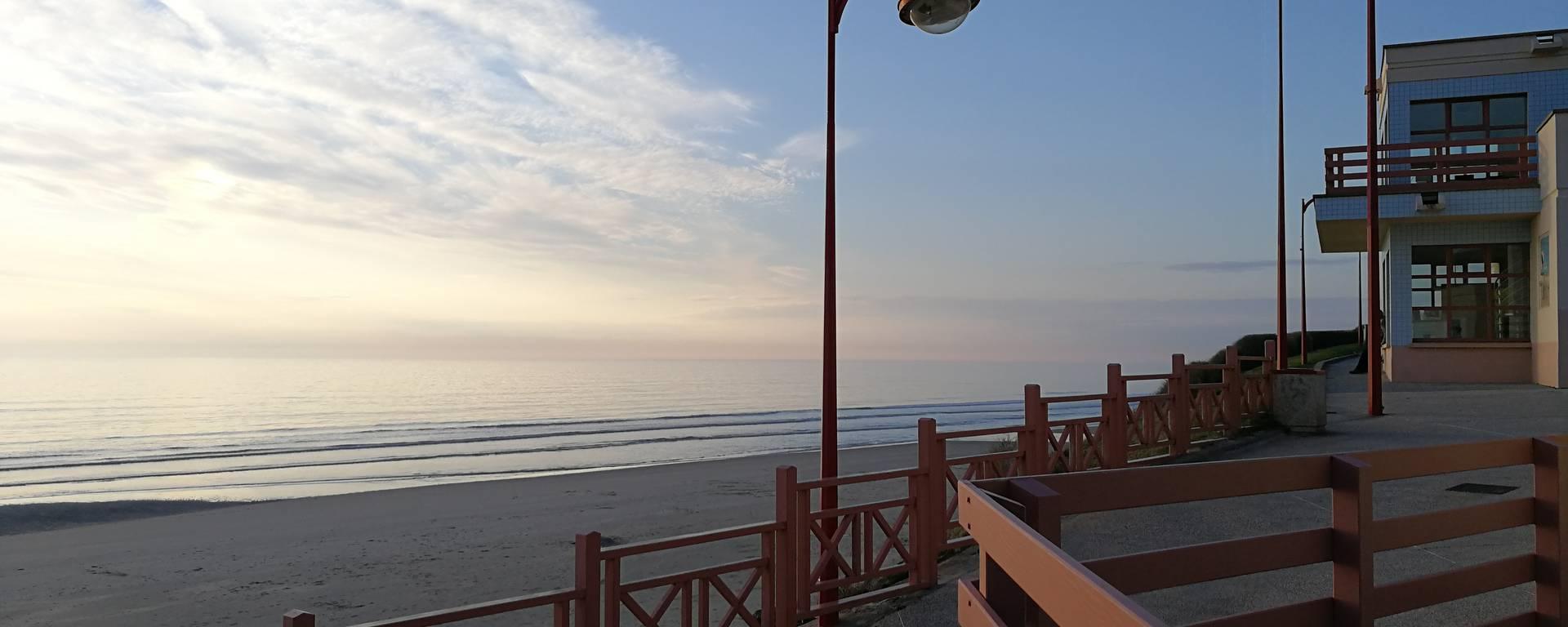 Front de mer à Equihen-Plage