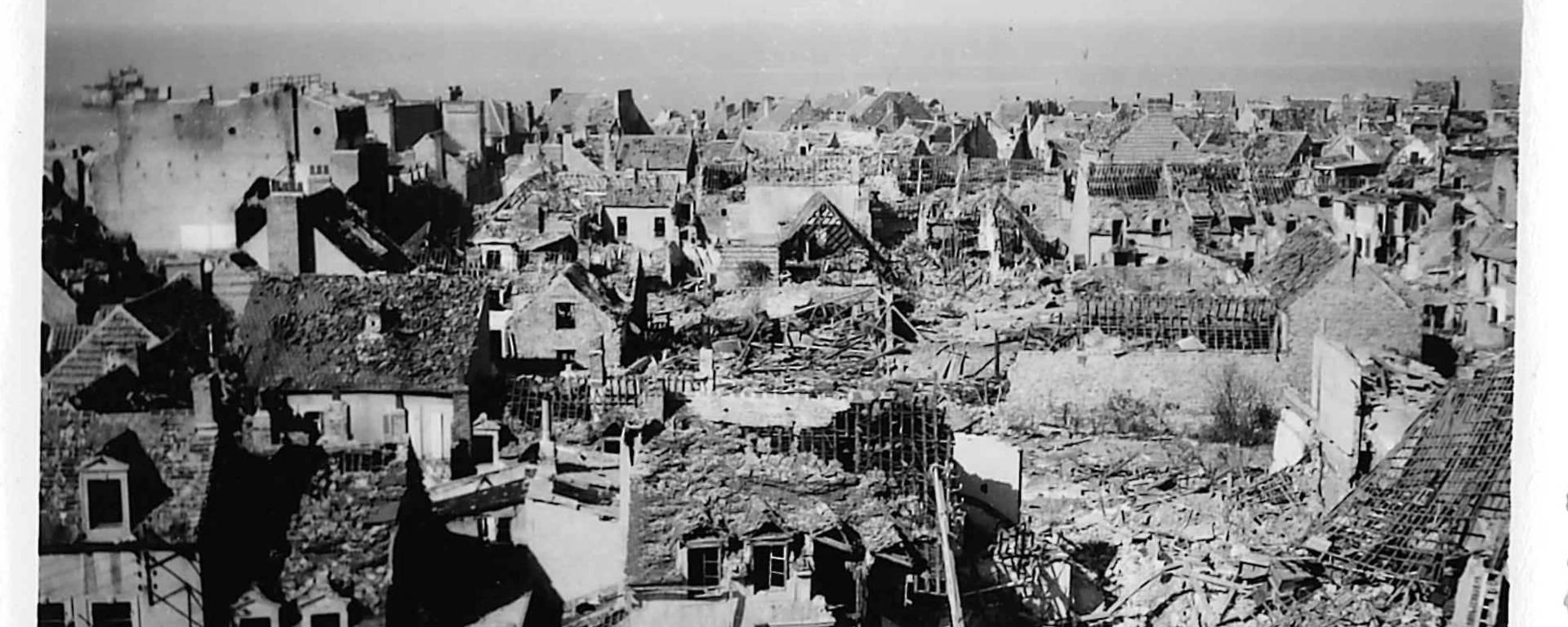 Le Portel à la fin de la Seconde Guerre Mondiale