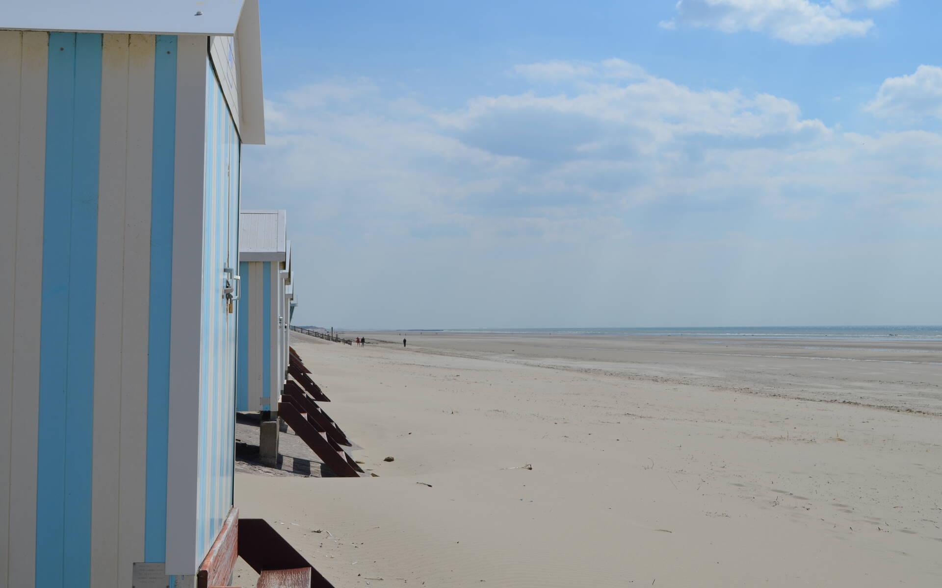cabines de plage hardelot
