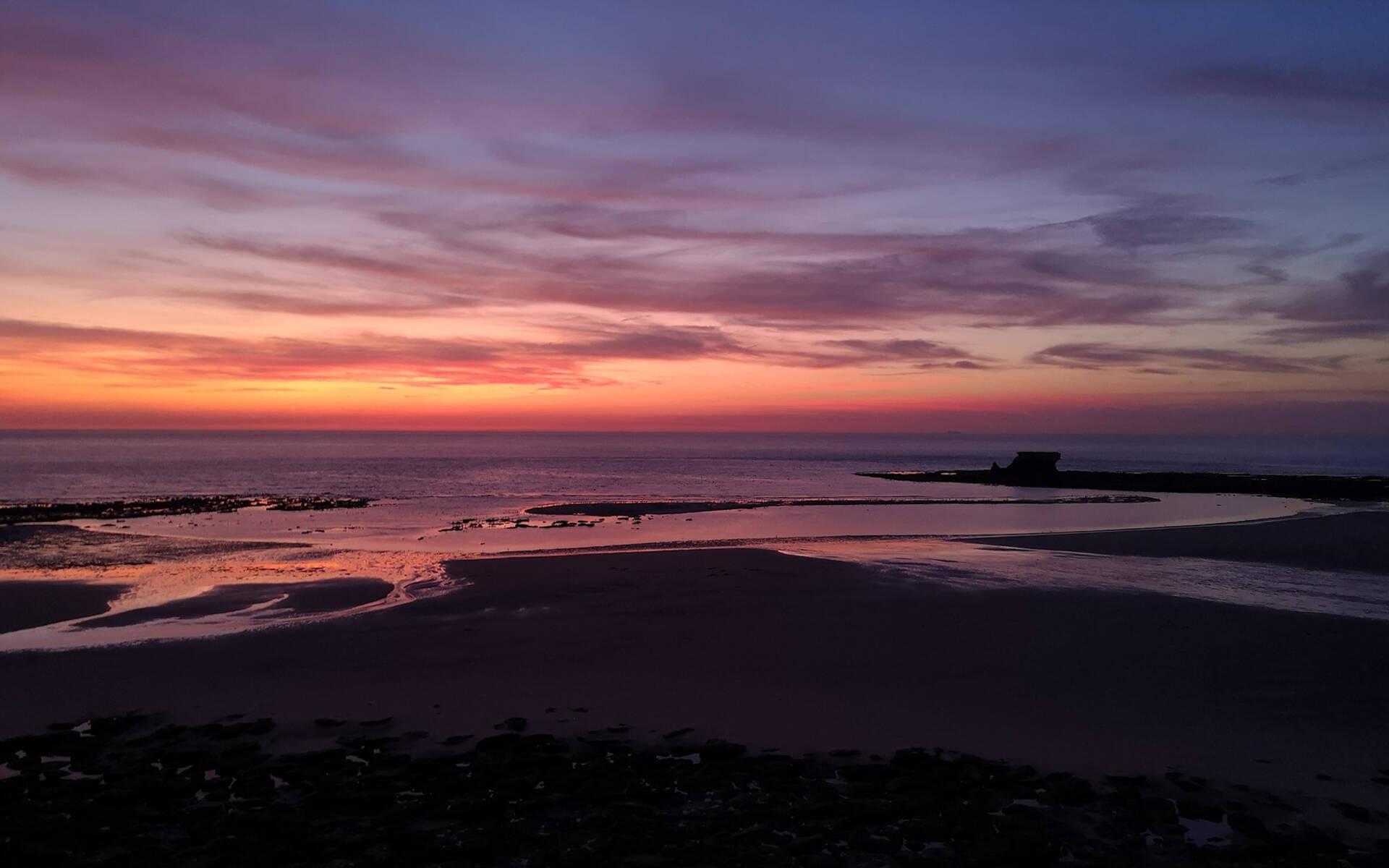 coucher de soleil ©A. Gourdin