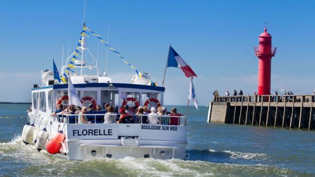 Promenade en mer à bord du Florelle : circuit de la Pointe aux Oies