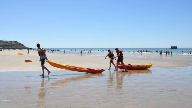 Sports nautiques plage de la Portel