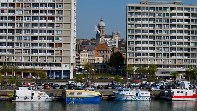 Vue générale de Boulogne-sur-Mer