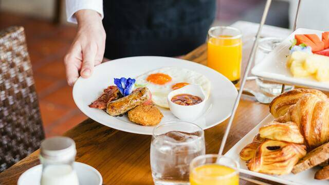 Service petit-déjeuner