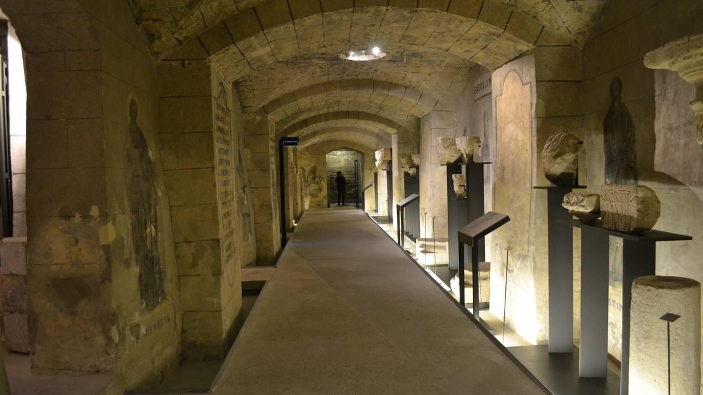 La crypte de la Basilique