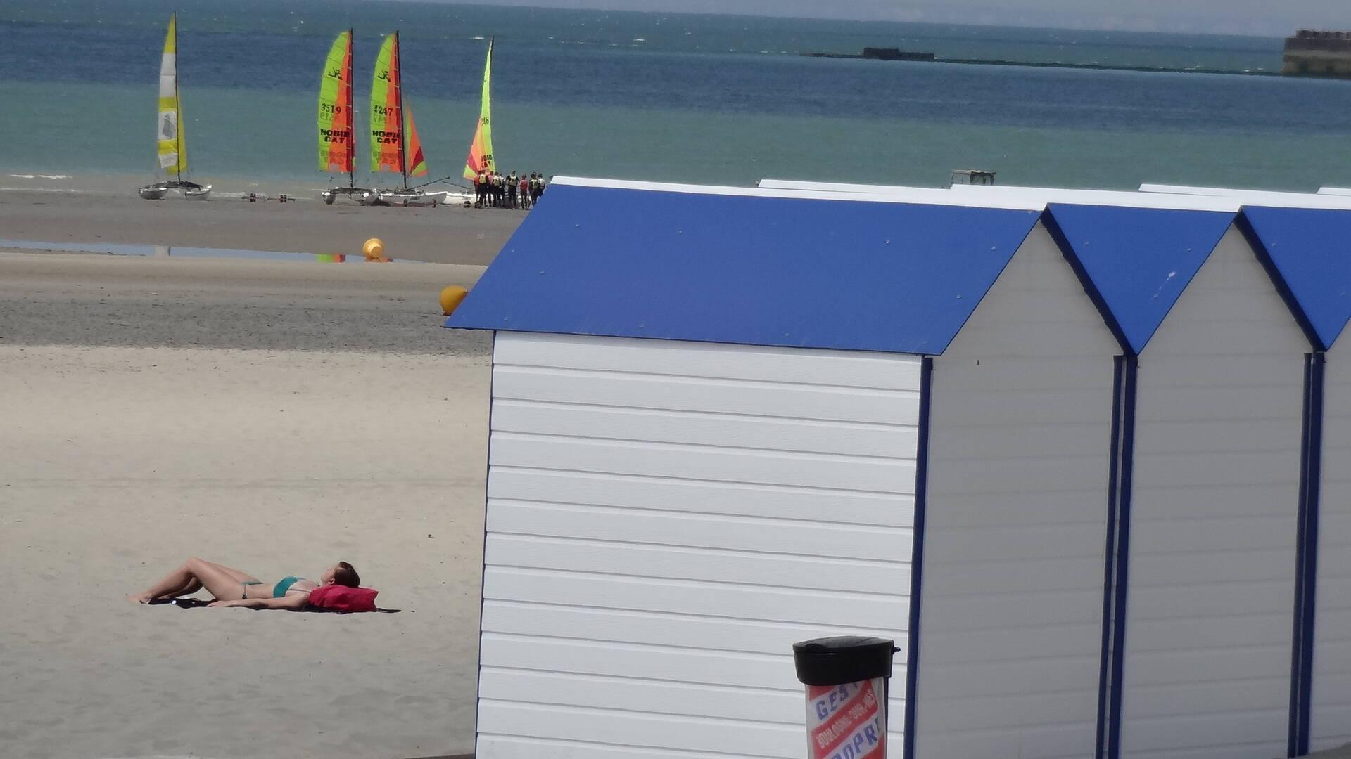 Cabines de plage Boulogne-sur-Mer