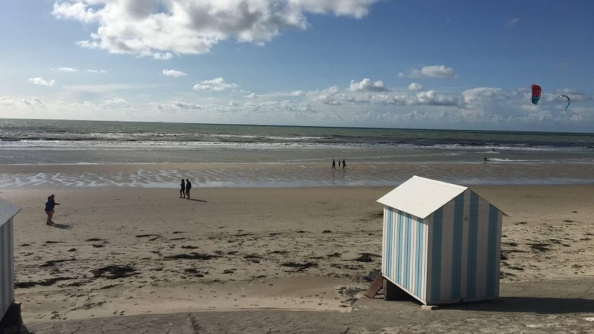 Cabines de plages d'Hardelot