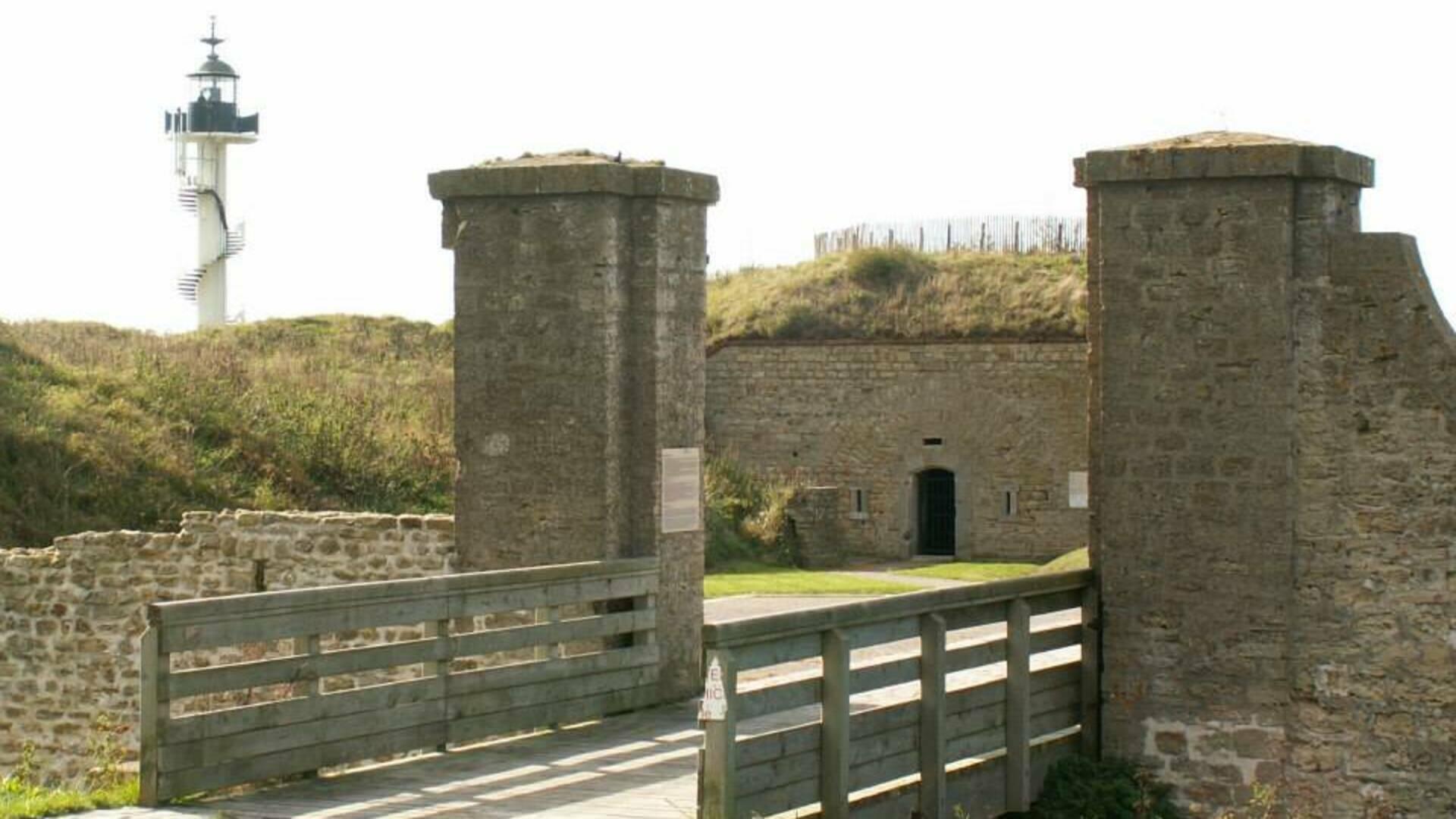 Entrée Fort d'Alprech