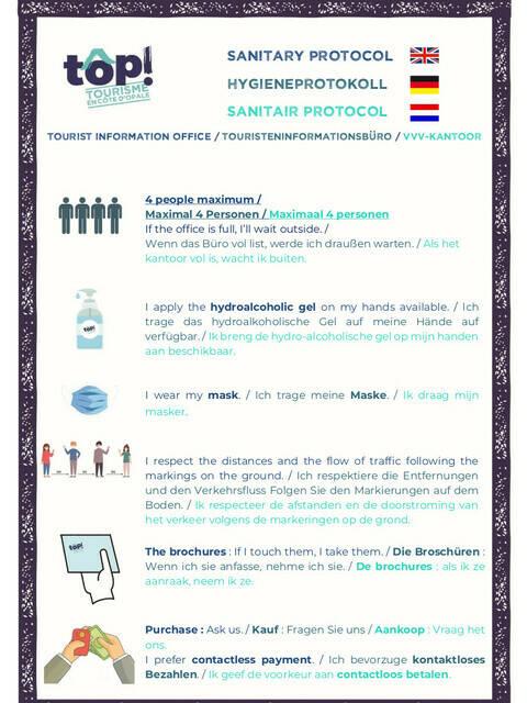 sanitary protocol