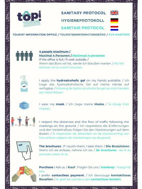 Sanitair protocol