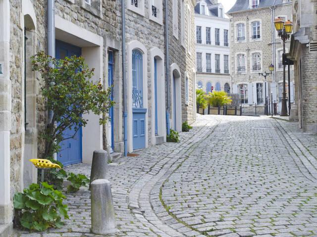 vieille ville de Boulogne-sur-Mer