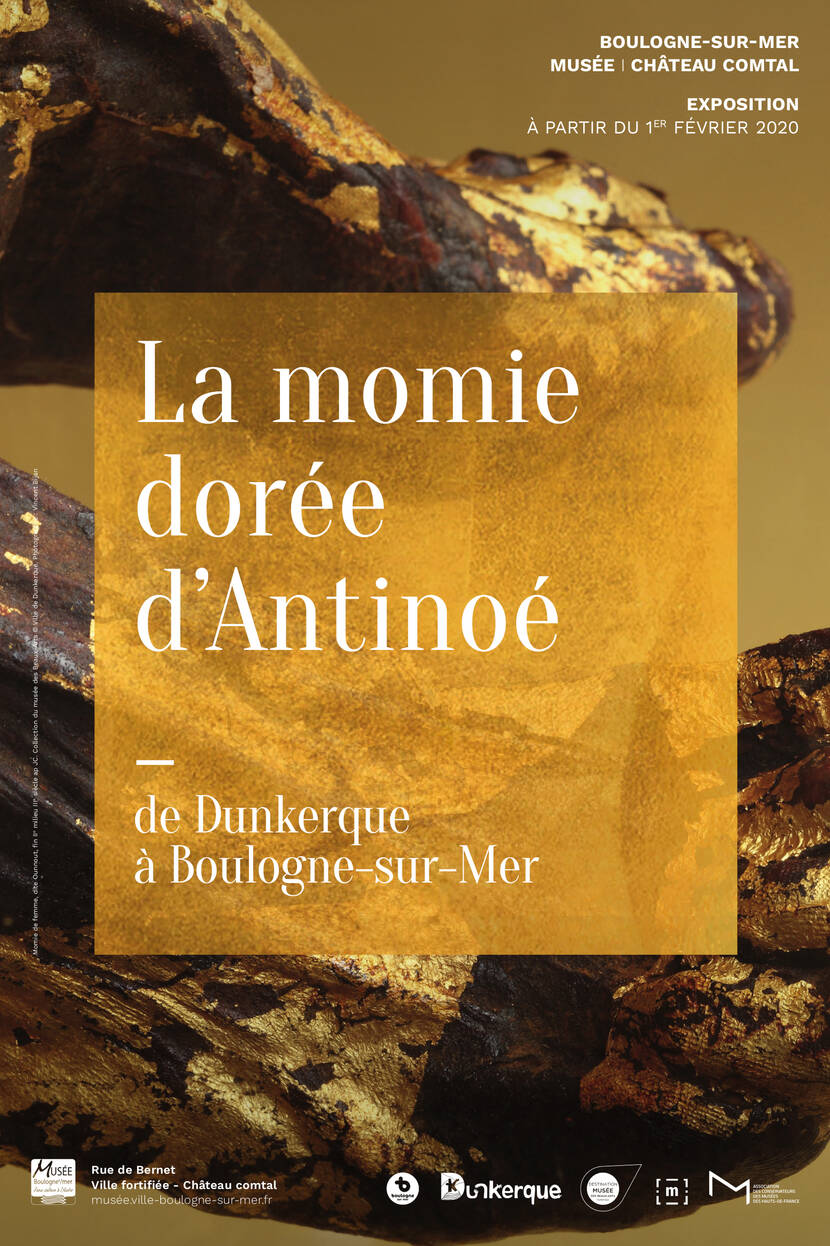momie dorée affiche