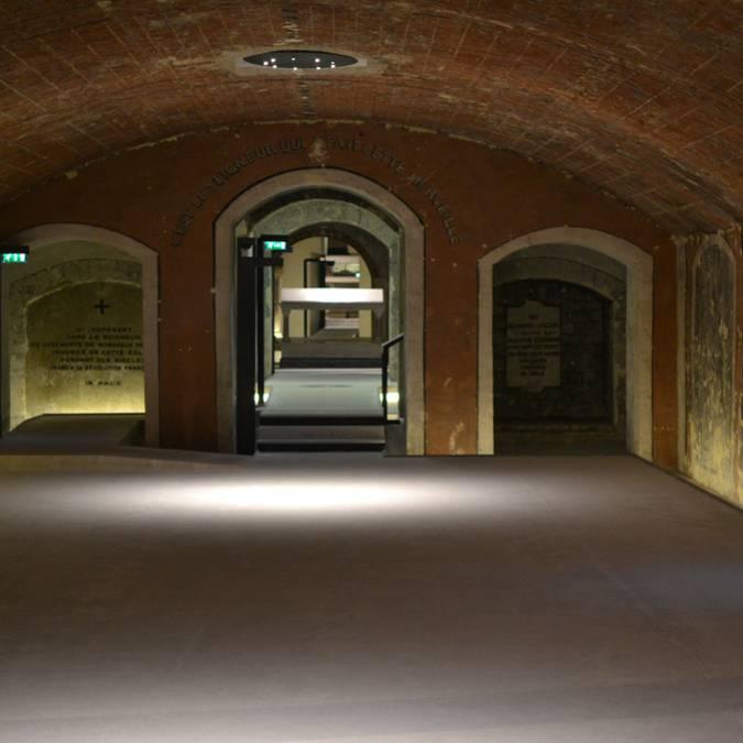 Salle de la crypte