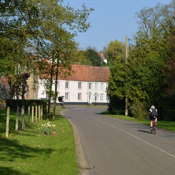 Cycliste village boulonnais