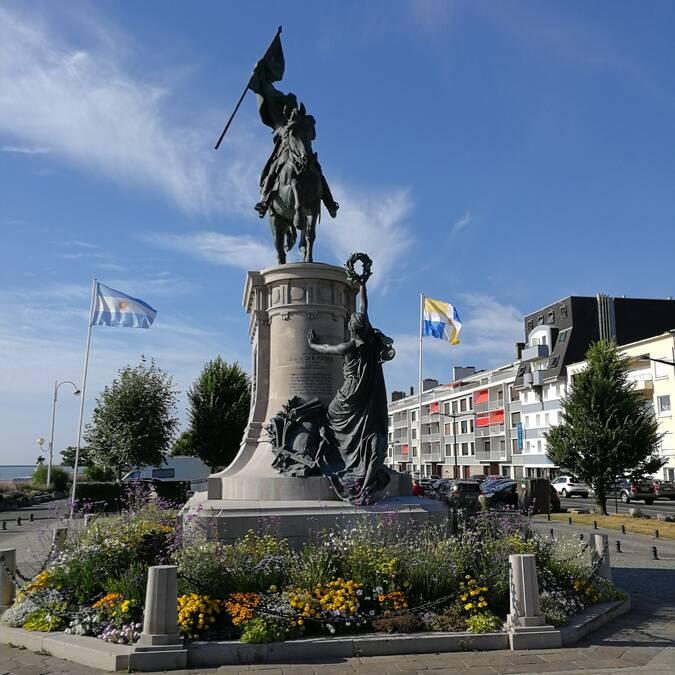 Statue du Général San Martin